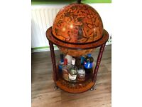 Drinks globe stuff for sale gumtree bar globe drinks cabinet gumiabroncs Image collections