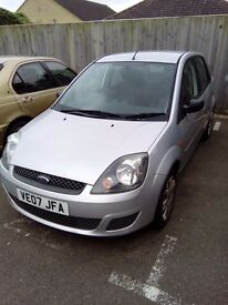 Ford fiesta 2007 1.25 style silver 74000 miles