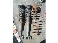 VW Passat B5 / B5.5 Front Coilovers and Rear Lowering Springs