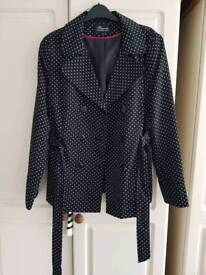 Ladies polka dot jacket