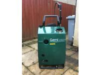 Diesel pressure washer hot 240 volt power jet washer just serviced Gerni industrial