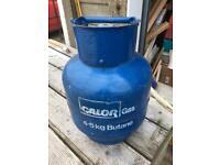 Gas bottle calor 4.5 full