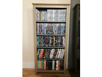 Huge collection of DVD's and Blu-Ray's + Shelving Unit