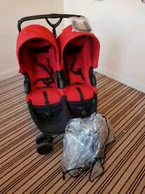 Britax B-agile double pushchair