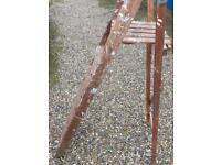 Wooden Stepladder.