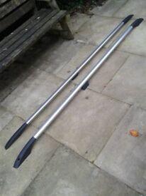 Alaminium roof bars for SWB T5