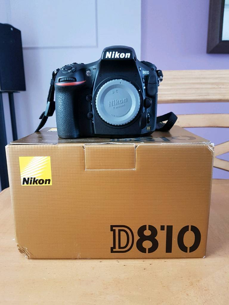 Nikon D810 36mp Dslr Body Only In Whitley Bay Tyne And Wear Gumtree