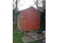 £10 (Collection/Dismantle required). 8x6 Double door shed. No leaks. V.G.C.