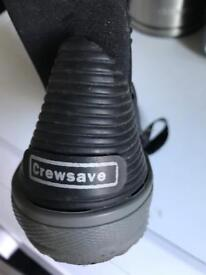 Crewsave size 8 wetsuit shoes