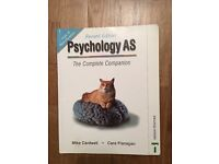 A S Psychology book - by Mike cardwell and cara flanagan