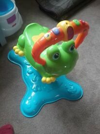 Bouncing frog