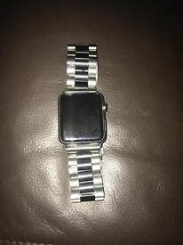 Iwatch series 1 stainless steel sapphire crystal screen