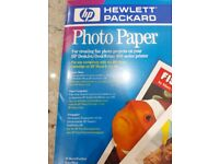 Hewlett Packard photo paper
