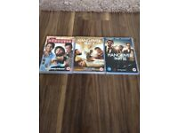 The Hangover dvd Set in excellent condition Hangover 1, 2, 3