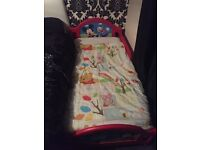 mickey mouse toddler bed.
