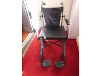 wheelchair - lightweight and folds very small