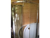 FREE Matrix corner shower enclosure 100 x 100cm