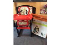 Jane high chair Lovely as new