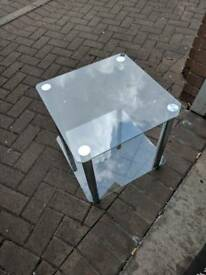 Glass table / drinks table
