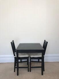 Free Ikea Dining Table - x2 Chairs - x2 Cushions