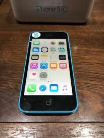 iPhone 5c blue 16gb locked to ee