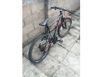 Saracen tufftrax mountain bike