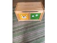 Children's toy box from john lewis