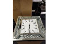 Diamond clock