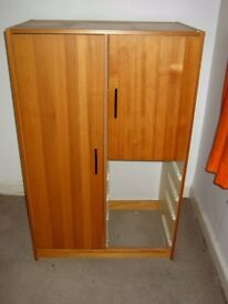 Ikea cupboard - good condition but has no drawers, still usefull