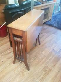 Beautiful Drop Leaf Occasional Table