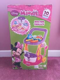 Minnie Mouse Doctors Trolley