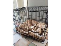 Medium size puppy/dog crate