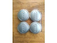 audi alloy wheel centre caps oem