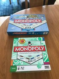 Monopoly Islay and Monopoly Family board games