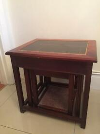 Solid Wood Set Of 3 Nesting Tables £20 ono