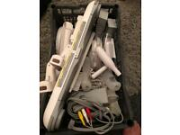 Ultimate wii package + games + all accessories bundle