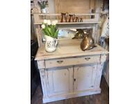 Victorian Shabby Chic Sideboard / Chiffonier