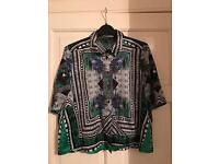 Ladies Aztec print blouse