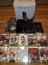 Xbox 360 Slimline - Great condition with all original packaging