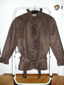 Women's Bianca Nyguard dress top/coat sz L