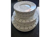 Dinner plates - Large Medium and Small