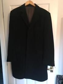 Men's combi coat black XXL