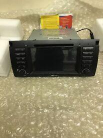 Brand New BMW X5 Car Radio,Sat Nav,CD