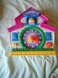 Teaching clock, very good condition