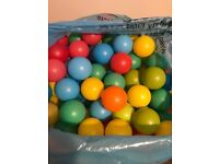 Large bag of ball pool balls (300approx)