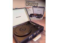 Crosley Cruiser Portable Suitcase Record player