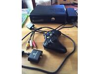 Xbox 360 console + games + controllers