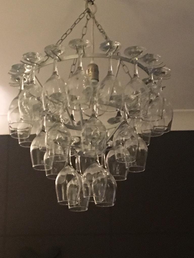 Chandelier type light fitting