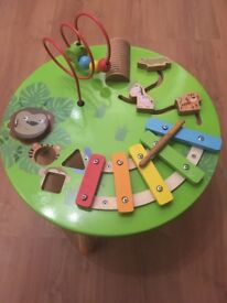 Wooden Activity Table