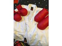 Boys / Girls Karate Suit and pads